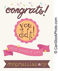 Compliments Ribbons