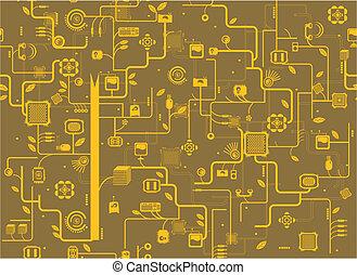 componente, eletrônico