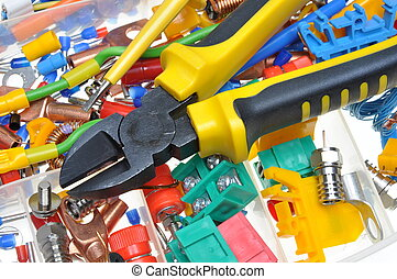 componente elettrico, kit