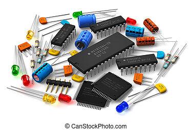 componenti, elettronico
