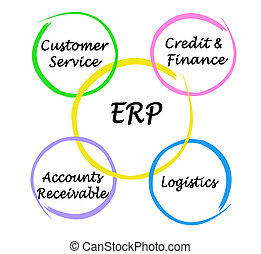 Components of ERP