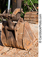 Components of the loader loaders. Construction materials Used in construction.