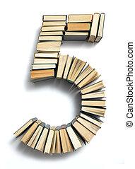 composé, livre, 5, lettre