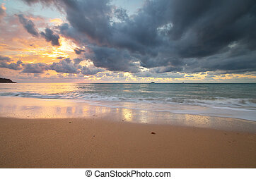 Composição,  Seascape, natureza