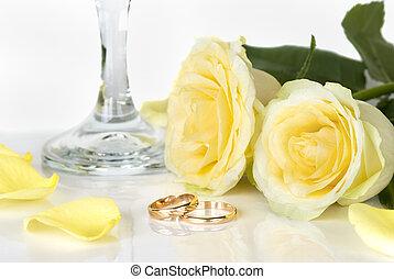 composición, boda