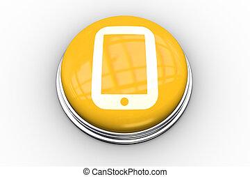composite, graphique, bouton, pc tablette, image