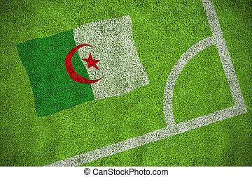 Composite image of algeria national flag
