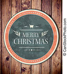 Composite image of banner and logo saying merry christmas -...