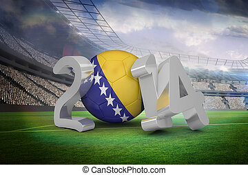 Composite image of bosnia world cup 2014