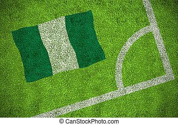 Composite image of nigeria national flag