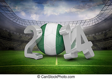 Composite image of nigeria world cup 2014