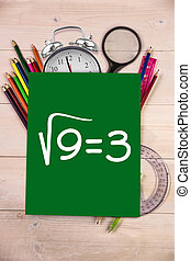 Composite image of square root of three - Square root of...