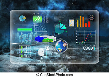 composite, interface, image, business