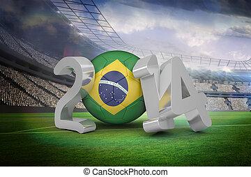composite szobor, közül, brazília, világbajnokság, 2014