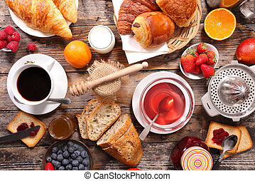 composition, breakfast
