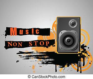 composition., grunge, muzikalisch