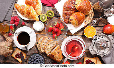 composition of breakfast