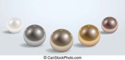 Composition of different metal balls - Composition of...