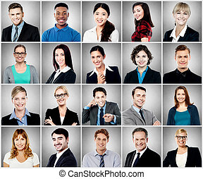 smiling people faces collection stock photo images 10 325 smiling