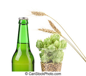 Composition of hop and barley.
