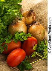 composition of vegetables