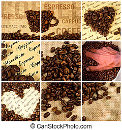 coffee - composition with coffee