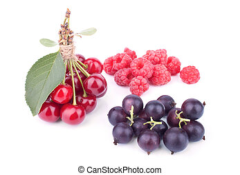 Composition with summer fruits