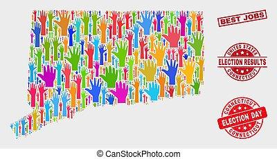 composizione, watermark, lavori, elettorale, programma condizione, connecticut, meglio, graffiato