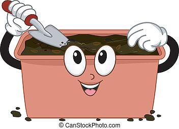 Compost Bin Mascot