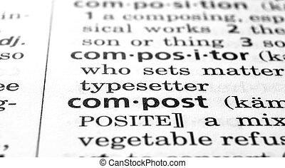 compost, gedefinieerde