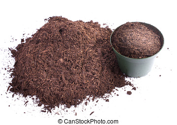 Compost Pile - Compost is a soil conditioner and natural...