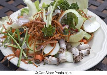 compostable, légumes