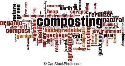 composting, λέξη , σύνεφο