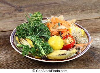 Composting organic food waste