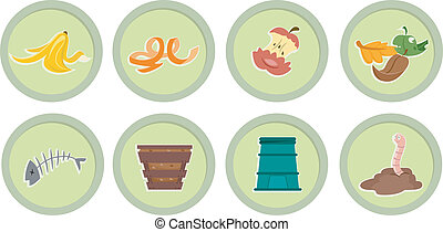 Composting Stickers