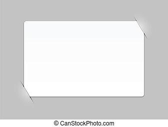 composto, vazio, página, com, lugares, para, foto, eps10, vetorial, fundo