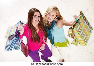 compradores, feliz