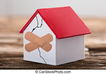 comprar, casa, signo de interrogación, alquiler, texto, ...