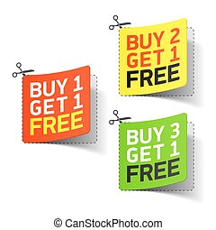 comprar, conseguir, cupón, libre, promocional, 1