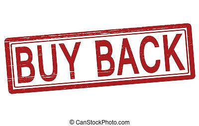 comprare, indietro