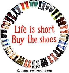 comprare, scarpe