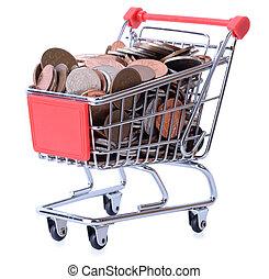 compras, dinero