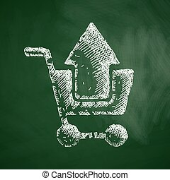 compras, icono