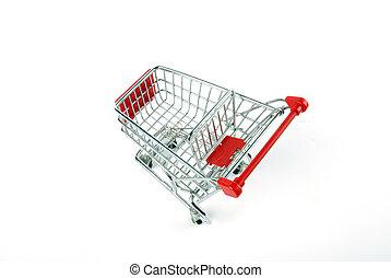 compras, mercado, carrito