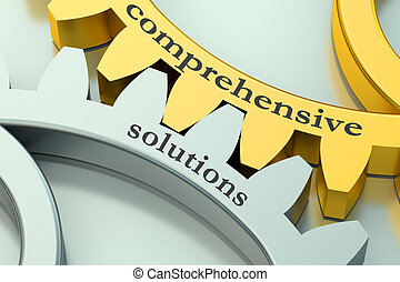 comprehensive solutions  concept on the gearwheels