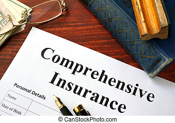comprehensive, verzekering, vorm