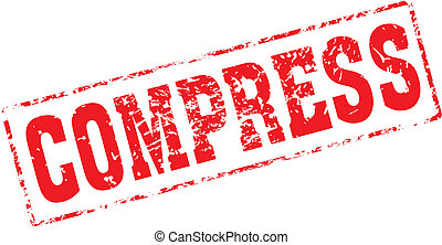 Grungy ink stamp, vector format very easy to edit