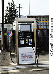 Single Compressed Natural Gas CNG fueling pump