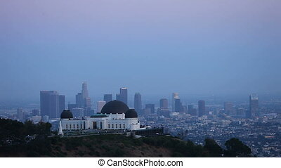 Compressed View of Los Angeles from Griffith Observatory