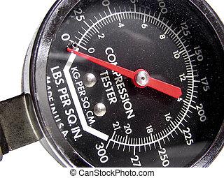 Compression Tester - Engine cylinder compression testing...